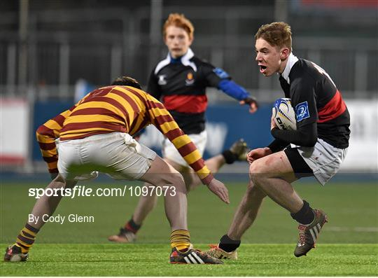 sportsfile de la salle churchtown v the high school bank of ireland schools fr godfrey cup. Black Bedroom Furniture Sets. Home Design Ideas