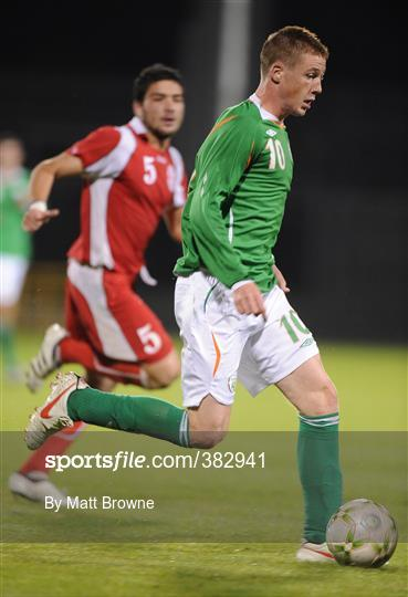 Republic of Ireland v Georgia - UEFA European U21 Championship Qualifier