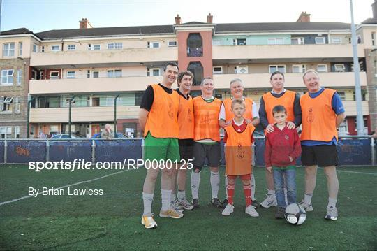 Oireachtas v Diplomats - Football Against Racism in Europe (FARE)  Friendly