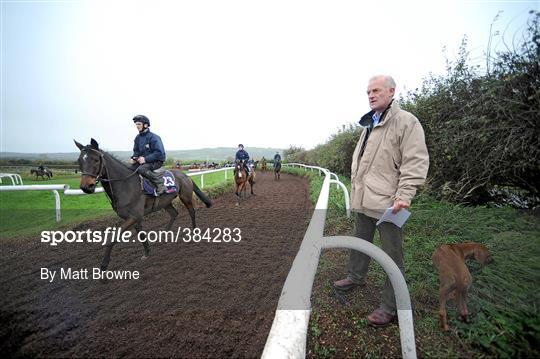 71a9092f7916 Sportsfile - Willie Mullins Stable Visit - 384283