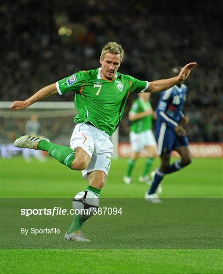Republic of Ireland v France - FIFA 2010 World Cup Qualifying Play-Off 1st leg