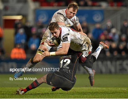 Ulster v Newport Gwent Dragons - Guinness PRO12 Round 12 refixture