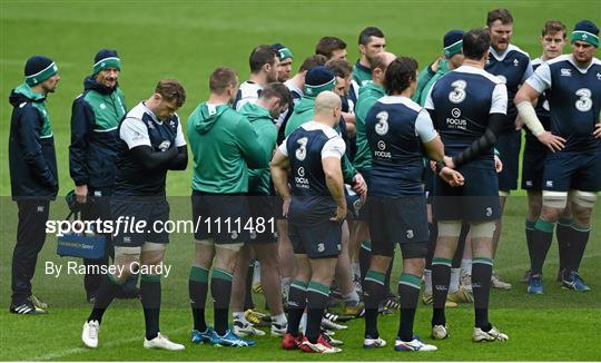 Ireland Rugby Captain's Run