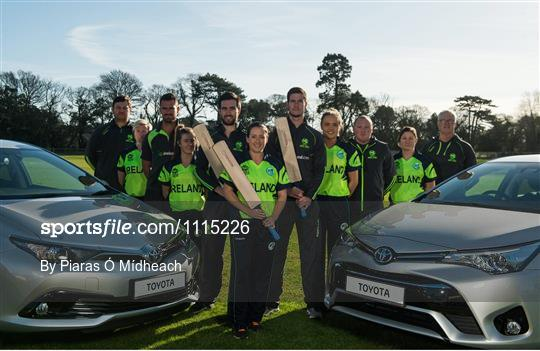 Toyota Announce Renewal of Sponsorship with Cricket Ireland