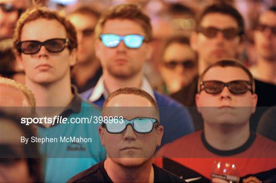 Arsenal v Manchester United in 3D at Fagans