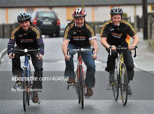 Kilkenny Hurlers Cycle for Enable Ireland