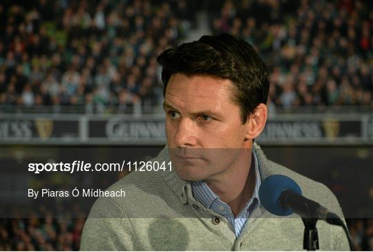 2FM Game On International Special, live from Aviva FanStudio
