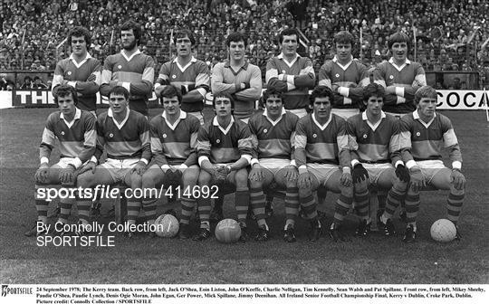 Kerry v Dublin - All Ireland Football Final 1978