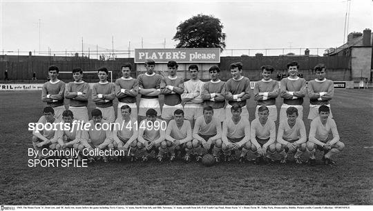 Home Farm 'A' v Home Farm 'B' - FAI Youth Cup Final 1965