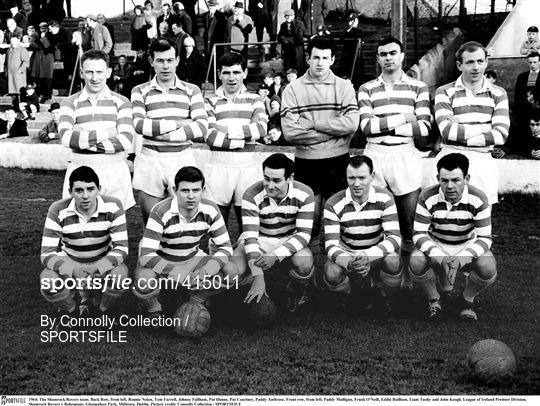 Shamrock Rovers v Bohemians - League of Ireland 1964