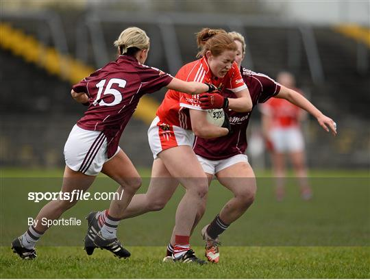 Galway v Cork - Lidl Ladies Football National League Division 1