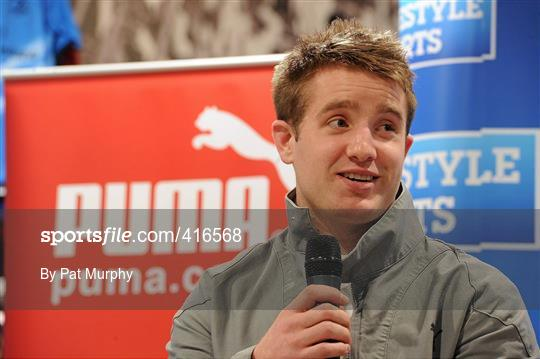 73a5db63bf4 Sportsfile - Lifestyle / Puma In-Store Questions and Answers Event ...