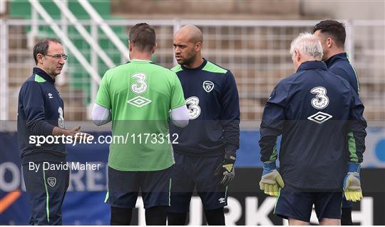 Republic of Ireland Squad Training at UEFA Euro 2016