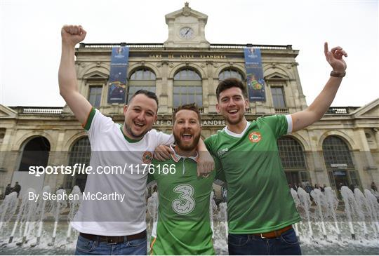 Republic of Ireland Supporters at UEFA Euro 2016
