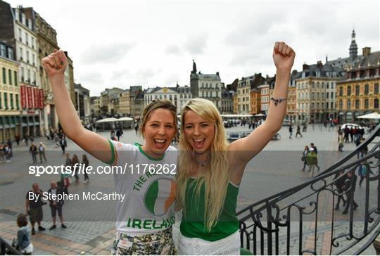 Republic of Ireland Supporters at UEFA Euro 2016