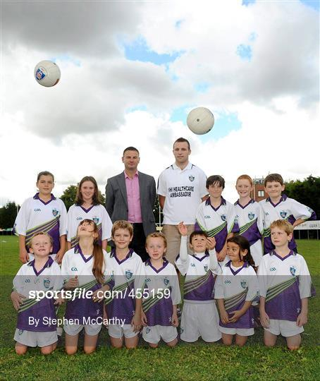 Down Captain Ambrose Rodgers Officially Closes Vhi GAA Cúl Camps Ahead of Sunday's Big Match