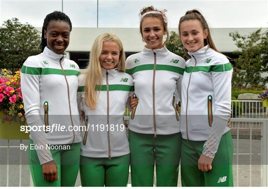 Ireland Athletics team return from IAAF World Junior Athletics Championships