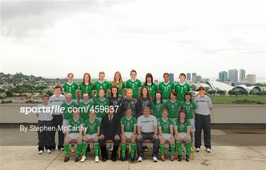 Republic of Ireland at the FIFA U-17 Women's World Cup - Squad Photos