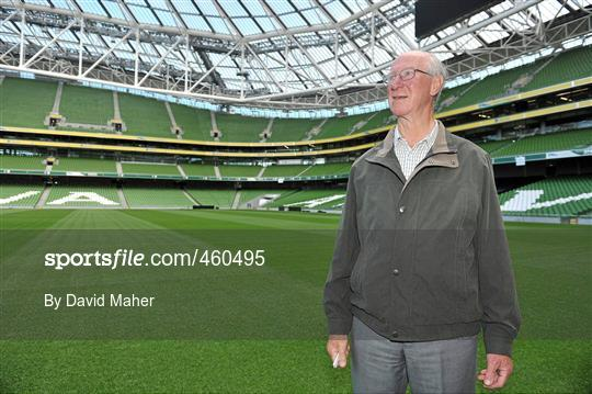 Jack Charlton launches Airtricity campaign