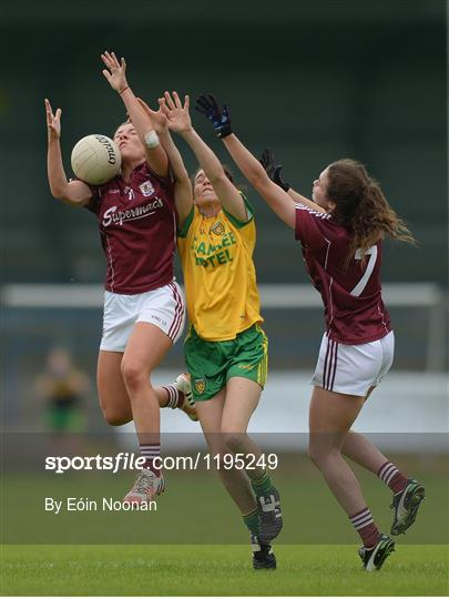 Galway v Donegal - TG4 Ladies Football All-Ireland Senior Championship Qualifiers