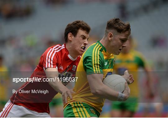 Donegal v Cork - Electric Ireland GAA Football All-Ireland Minor Championship - Quarter-Final
