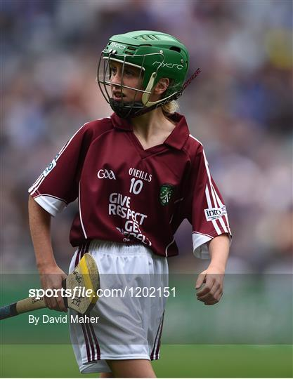 INTO Cumann na mBunscol GAA Respect Exhibition Go Games at Galway v Tipperary - GAA Hurling All-Ireland Senior Championship Semi-Final