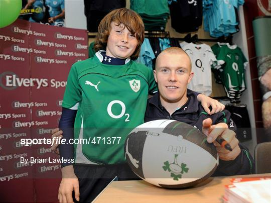 8ff8d15a041 Irish Rugby Team signing in Elverys Sports - 471377 - Sportsfile