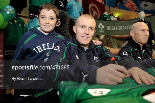 d7520894b1c Sportsfile - Irish Rugby Team signing in Elverys Sports - 471395