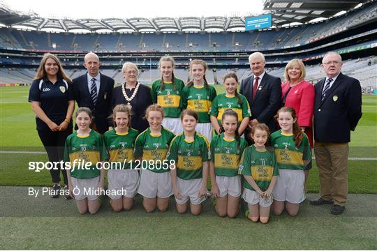 INTO Cumann na mBunscol GAA Respect Exhibition Go Games at Dublin v Kerry - GAA Football All-Ireland Senior Championship Semi-Final