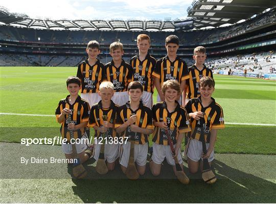 INTO Cumann na mBunscol GAA Respect Exhibition Go Games at Kilkenny v Tipperary - GAA Hurling All-Ireland Senior Championship Final