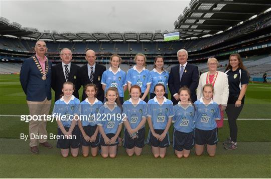 INTO Cumann na mBunscol GAA Respect Exhibition Go Games at Dublin v Mayo - GAA Football All-Ireland Senior Championship Final