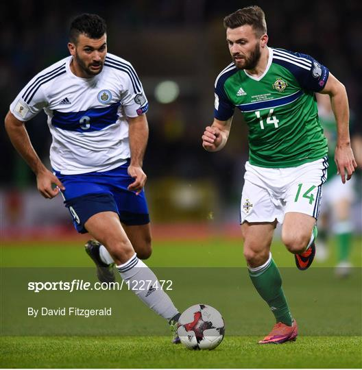 Northern Ireland v San Marino - FIFA World Cup Group C Qualifier