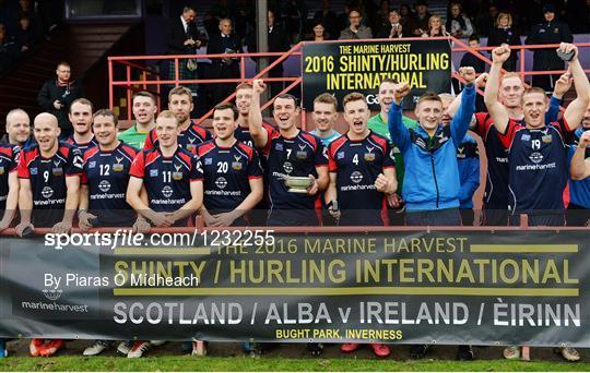 Ireland v Scotland - 2016 Senior Hurling/Shinty International Series