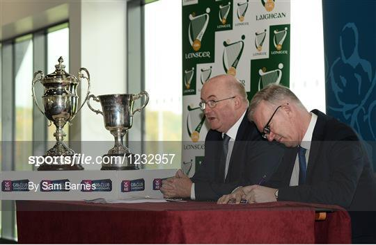 AIB Leinster Club Championships 2016 Launch