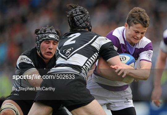 Cistercian College Roscrea v Clongowes Wood College SJ - Powerade Leinster Schools Senior Cup Final