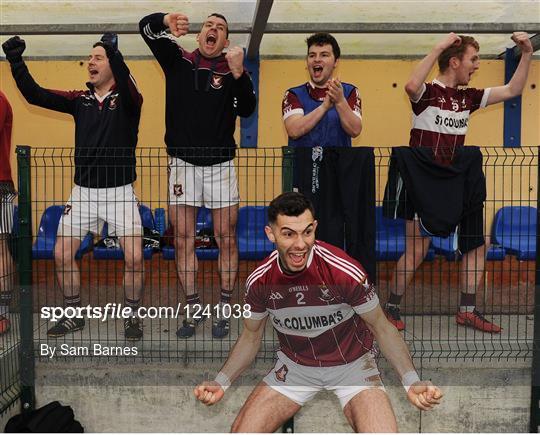 St Columbas v St Lomans - AIB Leinster GAA Football Senior Club Championship quarter-final