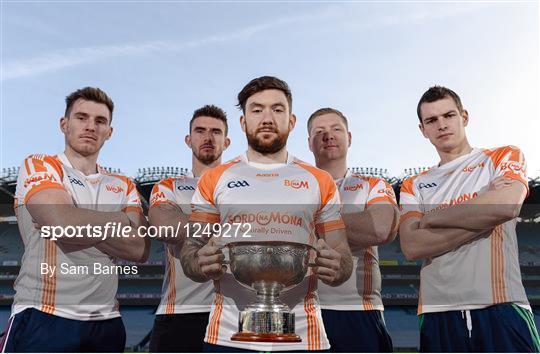 Bord na Móna Leinster GAA Series 2017 Launch