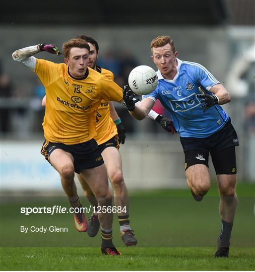 Dublin v DCU Dochas Eireann - Bord na Mona O'Byrne Cup Group 1 Round 1