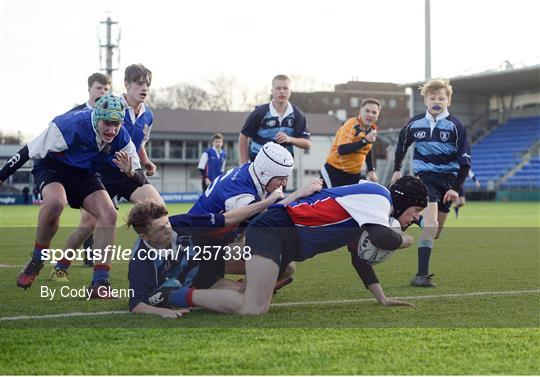 Newpark Comprehensive v Templeogue College - Bank of Ireland Fr Godfrey Cup Round 1