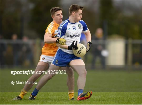 Antrim v Monaghan - Bank of Ireland Dr. McKenna Cup Section B Round 2