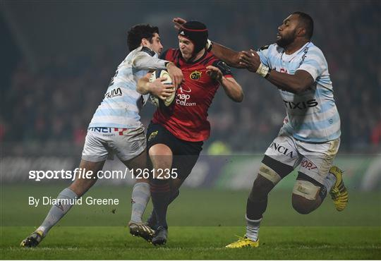 Munster v Racing 92 - European Rugby Champions Cup Pool 1 Round 6