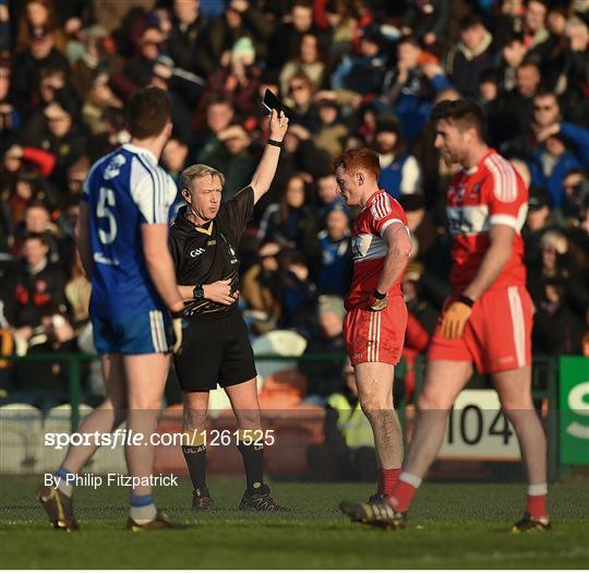 Monaghan v Derry - Bank of Ireland Dr. McKenna Cup semi-final