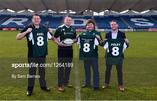 Rugby Legends to Remember Anthony Foley