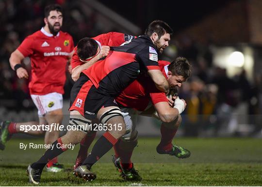 Edinburgh v Munster - Guinness PRO12 Round 13
