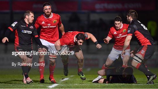 Edinburgh v Munster - Guinness PRO12 Round 13
