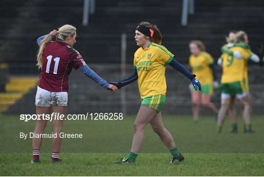 Galway v Donegal - Lidl Ladies Football National League Round 2