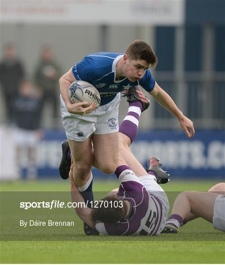 Clongowes Wood College v St Mary's College - Bank of Ireland Leinster Schools Senior Cup second round