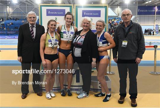 Irish Life Health National Senior Indoor Championships