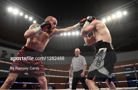 Boxing from Waterfront Hall in Belfast