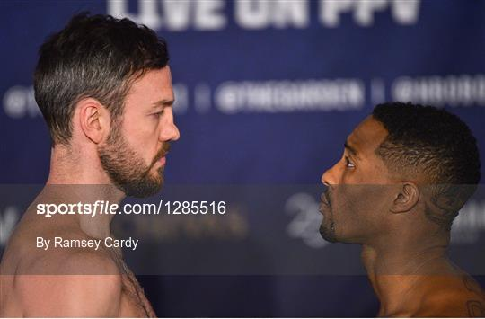 Middleweight Madness Weigh-Ins